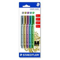 Staedtler Metallic Marker (5 Colours) 8323 SKB5