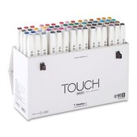 Shinhan Touch Twin Brush Marker Assorted Set B(Set of 60) (1216031)