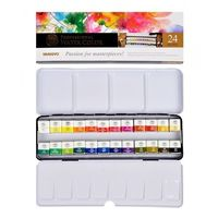 Mungyo Professional Water Colours 24 Shades