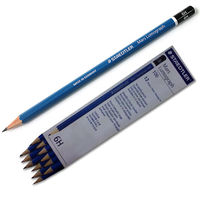 Staedtler Mars Lumograph Pencils 100 6H, Pack of 4