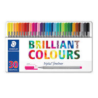 Staedtler Triplus Fineliner 30 Shades Metal Box (334 M30)