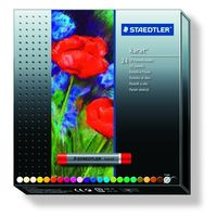 Staedtler Karat Oil Pastels, Set of 24 Colours in Cardboard Box (2420 C24)