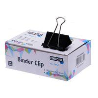 Chrome Binder Clips Black 41 mm (9962)