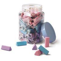Doms Triangle Eraser Jar (150 Pcs)