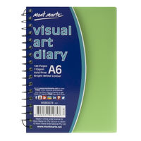 Mont Marte Visual Art Diary PP Coloured Cover A6 (MSB0078)