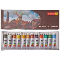 Camel Artist Oil Colour Box (9 ml, 12 Shades)