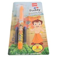 Cello Buddy fountain Pen, Blue, Packof 10