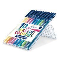 Staedtler Triplus Fibre Tip Pen 10 Shades (323 SB 10)