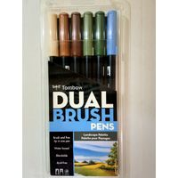 Tombow Dual Brush Pen 6 Shades (ABT-6C LA)