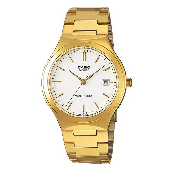 Men s Stainless Steel Band Watch - MTP-1170