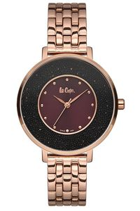 Women's Super Metal Band Watch -LC06624, brown, rose gold, rose gold