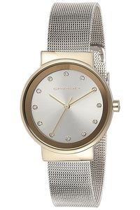 Giordano Women's's Watch Analog Display- 2832-55, silver, silver