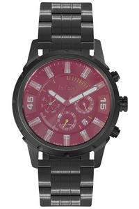 Men's Super Metal Band Watch - LC06312, black, black, black