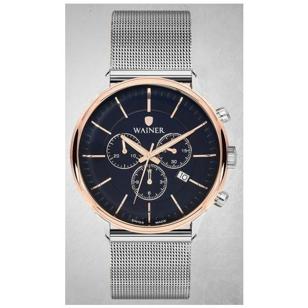 Men s Stainless Steel Band Watch -WA19099