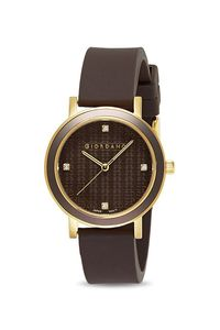 Giordano Women's Watch Analog Display- 2932-02, black, black