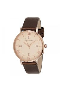 Giordano Women's Watch Analog Display-2952-01, brown, rose gold
