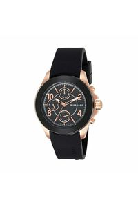 Giordano Men's Watch Multi Function Display- 1908-02, black, black