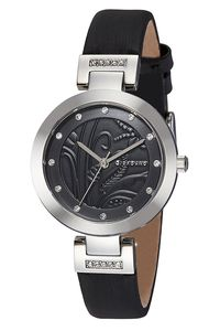 Giordano Women's's Watch Analog Display- 2784-01, black, black