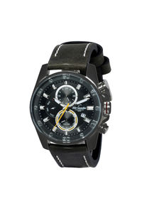 Tornado Men's Watch Multifunction Display Watch- T5131-BLBBY, black, black