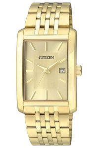 Men's Stainless Steel Band Watch - BH1673, gold, gold, gold