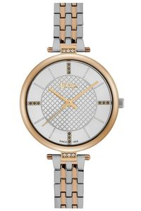 Women's Super Metal Band Watch - LC06464, silver, rose gold, two tone rose gold
