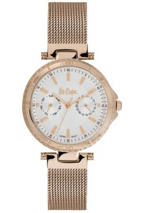 Women's Super Metal Band Watch -LC06599, silver, rose gold, rose gold