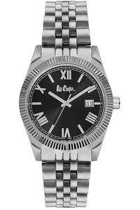 Women's Super Metal Band Watch - LC06470, black, silver, silver