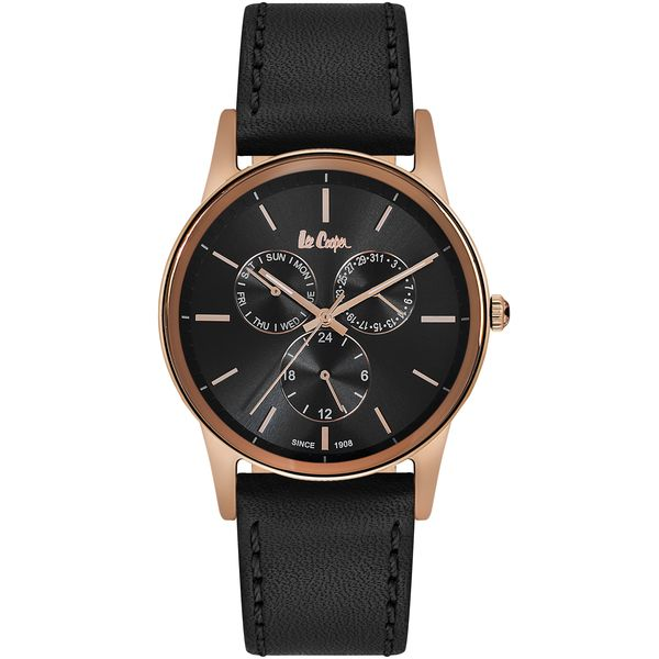 Men s Leather Band Watch -LC06499