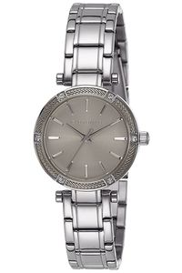 Women's Stainless Steel Band Watch -2795, silver, silver grey, silver