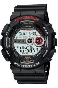 G-shock Men's Resin Band Watch GD-100-1A, grey, black, black