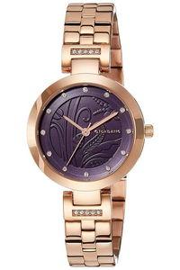 Giordano Women's's Watch Analog Display- 2784-55, rose gold, blue
