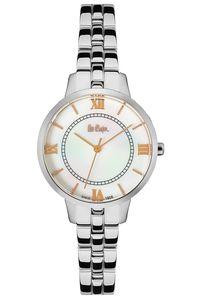 Women 's Super Metal Band Watch - LC06407, silver, silver, white