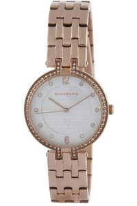 Women's Stainless Steel Band Watch - 2883, white, gold, gold