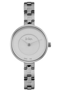 Women's Super Metal Band Watch -LC06628, white, silver, silver