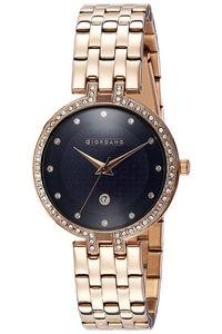 Giordano Women's's Watch Analog Display-2770-66, rose gold, blue