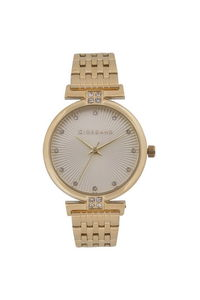 Giordano Women's Watch Analog Display- 2869-22, gold, white