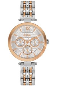 Women's Super Metal Band Watch -LC06241, silver, tt rosegold, tt rosegold