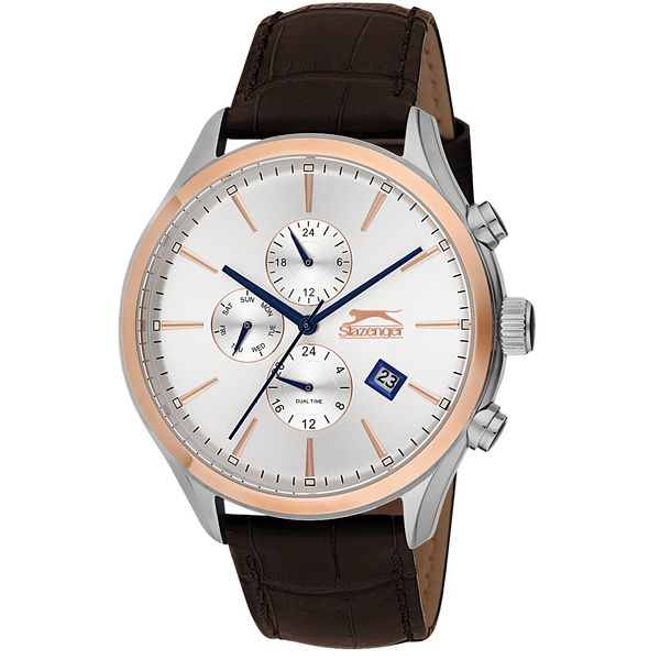 Men s Leather Band Watch - SL. 9.6064