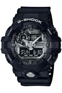 Men's Resin Band Watch -GA-710, grey, black, black
