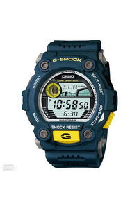G-shock Men's Resin Band Watch G-7900-2D, grey, blue, blue