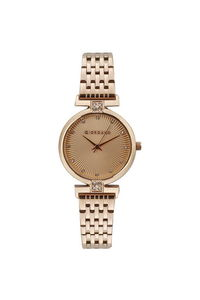 Giordano Women's Watch Analog Display- 2869-44, rose gold, rose gold
