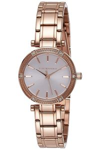 Giordano Women's's Watch Analog Display- 2795-33, rose gold, silver white
