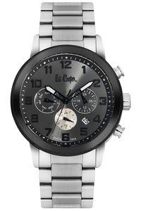 Men's Super Metal Band Watch - LC06219, silver, silver, grey