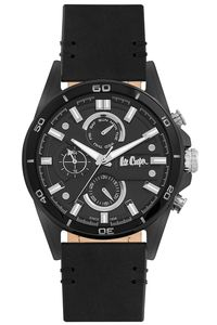 Men's Super Metal Band Watch -LC06514, black, black, black