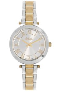 Women's Super Metal Band Watch - LC06332, silver, silver, two tone gold