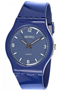 Astro Kids Blue Plastic Watch - A8806-PPNN, blue, blue, blue