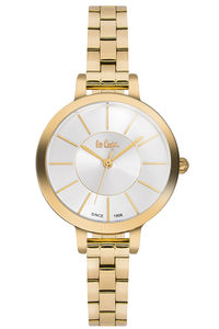 Lee Cooper Women's Super Metal Band Watch LC06175.130, silver, gold, gold