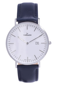 Tornado Men's Watch Analog Display-T8019C-GLDW-S, white, brown