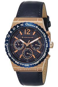Men's Genuine Leather Band Watch -1757, blue, tt blue, blue
