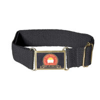 Maharaja Agrasen School Belt Black, xxl 42
